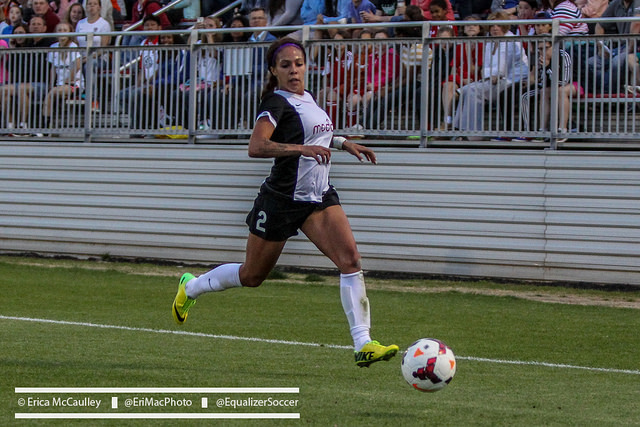 Sydney Leroux is now a member of the Western New York Flash after Seattle Reign FC traded her for Abby Wambach, among other pieces. (Photo Copyright Erica McCaulley for The Equalizer)