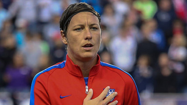 Abby Wambach announced her engagement on Sunday. (Photo Copyright Erica McCaulley for The Equalizer)