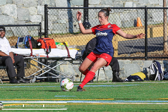 Amanda DaCosta has been traded to the Chicago Red Stars. (Photo Copyright Erica McCaulley for The Equalizer)
