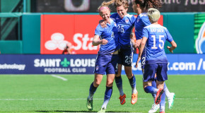 Late goals see USWNT past New Zealand in friendly