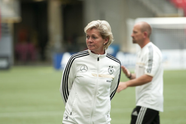 Silvia Neid goes out with Rio Gold Medal and FIFA Women's Coach of the Year Award (Photo: Canada Soccer)