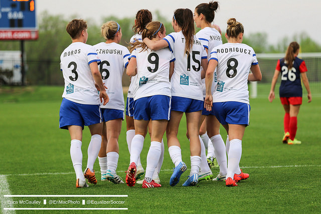 FC Kansas City was the only team of the nine from 2015 to exit the expansion draft untouched. (Photo Copyright Erica McCaulley for The Equalizer)