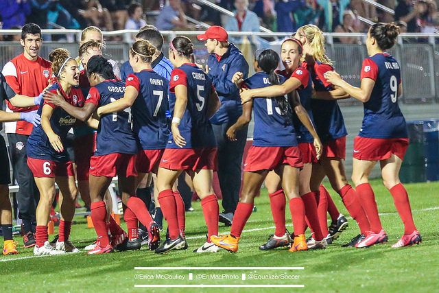 The Washington Spirit are stretched thin after injuries. (Photo Copyright Erica McCaulley for The Equalizer)