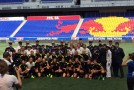 USWNT presented with dog dags by Armed Forces