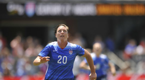 After slow start, US tops Ireland on Wambach brace