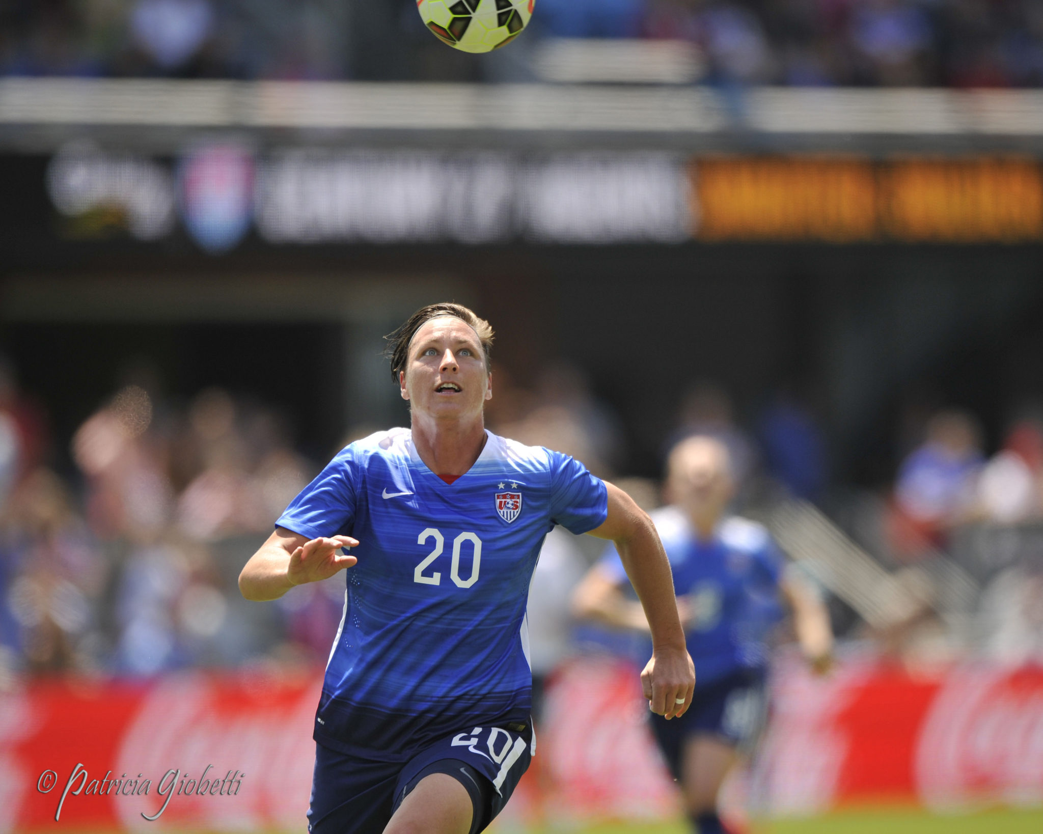Abby Wambach scored twice on Sunday. (Photo Copyright Patricia Giobetti for The Equalizer)