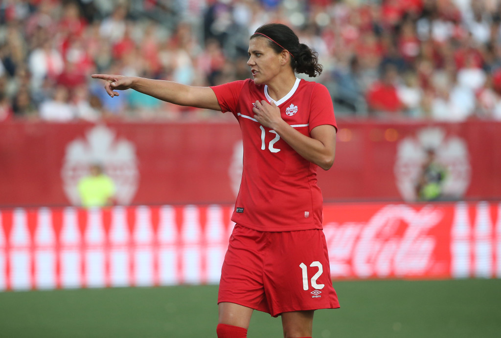 Christine Sinclair (Getty Images)