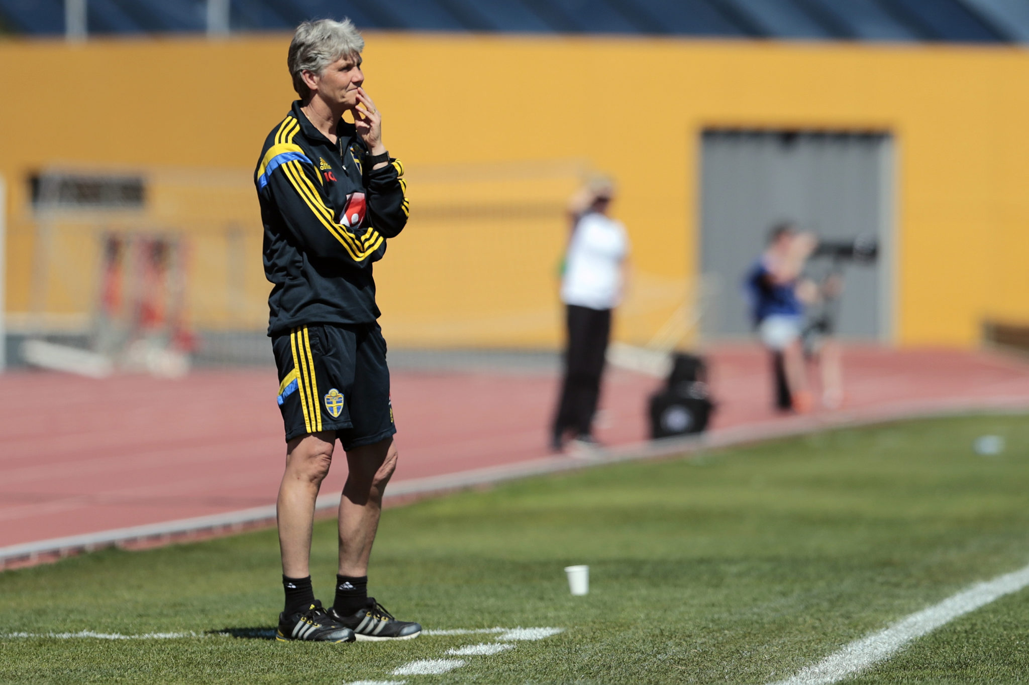 The 2017 EUROS are Pia Sundhage's last as coach of Sweden. (Getty Images)