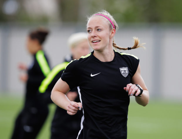 USWNT co-captain Becky Sauerbrunn has been elected as a player representative and will be part of the CBA negotiating team going forward. (Getty Images)
