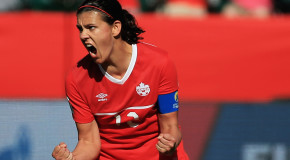 "Christine Sinclair: ""I'm just raring to go"""