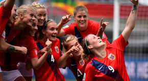 Norway roll 4-0 over Thailand in Group B opener