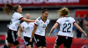 Sasic, Mittag record hat tricks in Germany blowout
