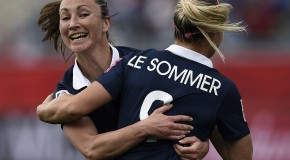 Le Sommer lifts France past England in WC opener