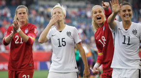 The Rock: USWNT '23 of the biggest badasses'