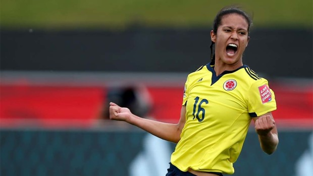Lady Andrade and Clombia surprised in Canada, but their Olympic group is daunting (Getty Images)
