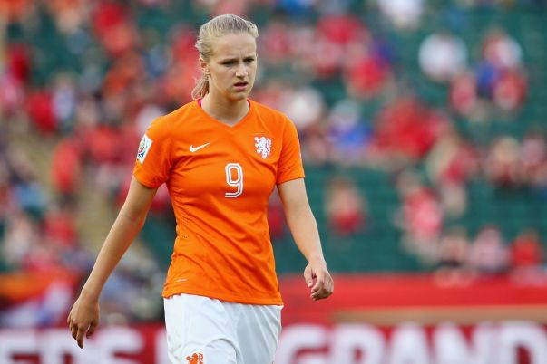 The Netherland's Vivianne Miedema knows that Sweden are the favorites going into the teams' quarterfinal match-up. (Getty Images)