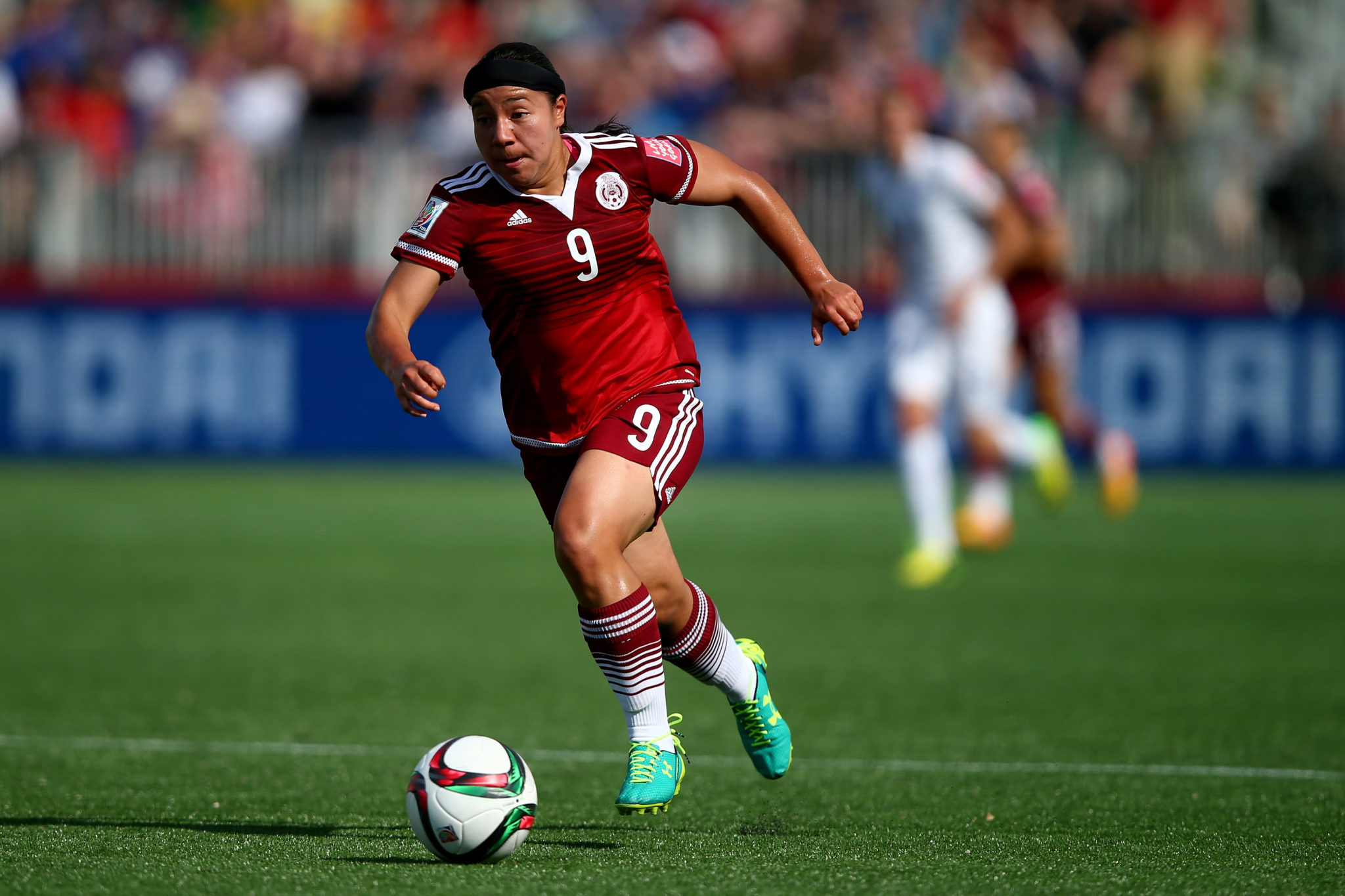 Charlyn Corral says she is retiring from the Mexico women's national team. (Getty Images)
