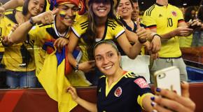 Colombia captain Gaitan: We're making history