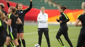 US women try to keep focus on field amid criticism
