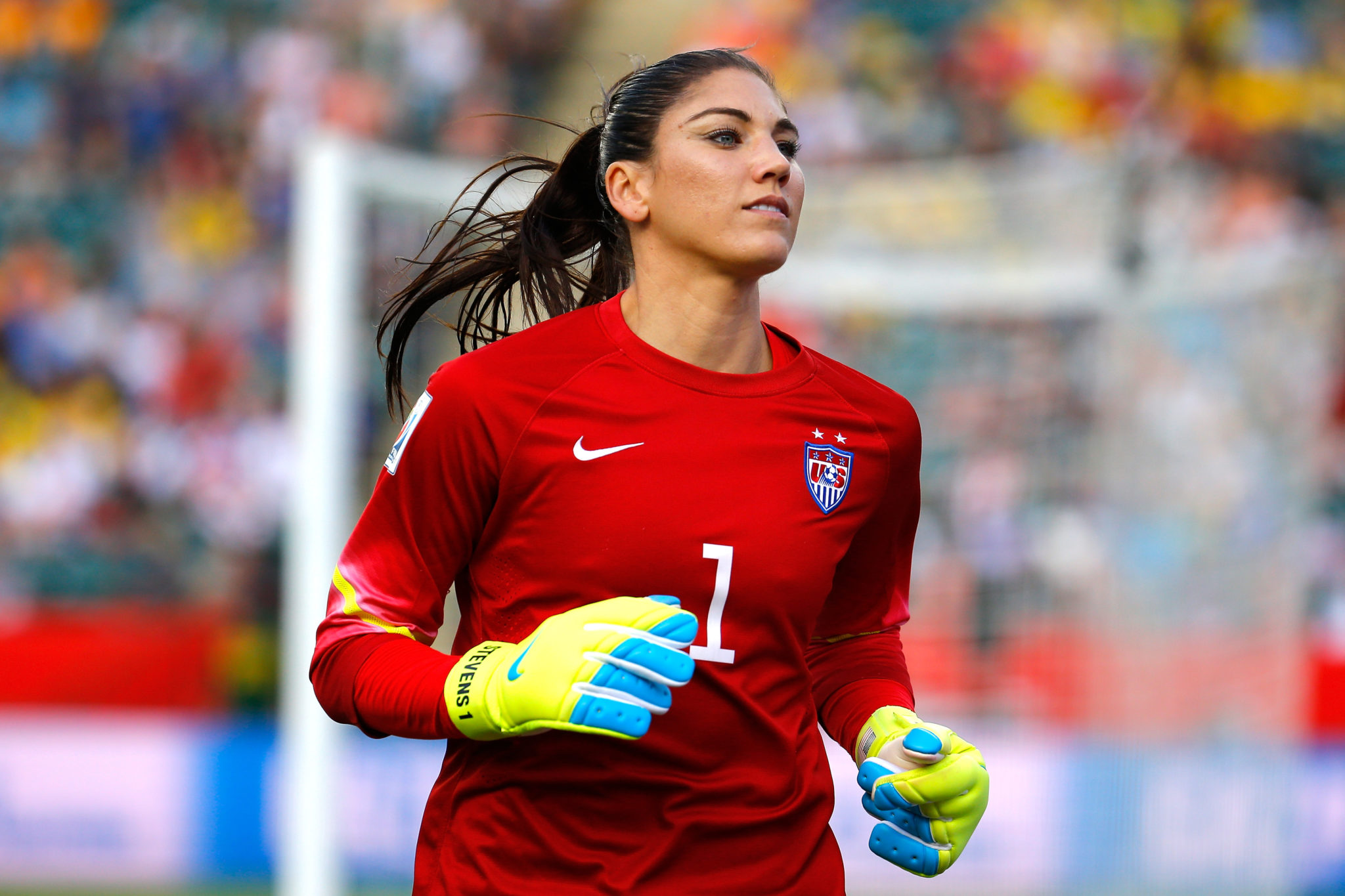 Hope Solo says that as of today, she wouldn't go to the Olympics for fear of the Zika virus. (Getty Images)