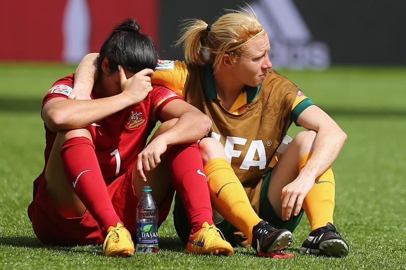Australia will not play its two scheduled September matches against the USWNT, according to the FFA. (Getty Images)