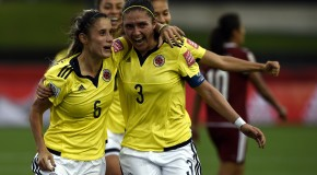 Colombia's first WC goal earns draw with Mexico