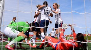 France erupt, rout Mexico 5-0 to take Group F