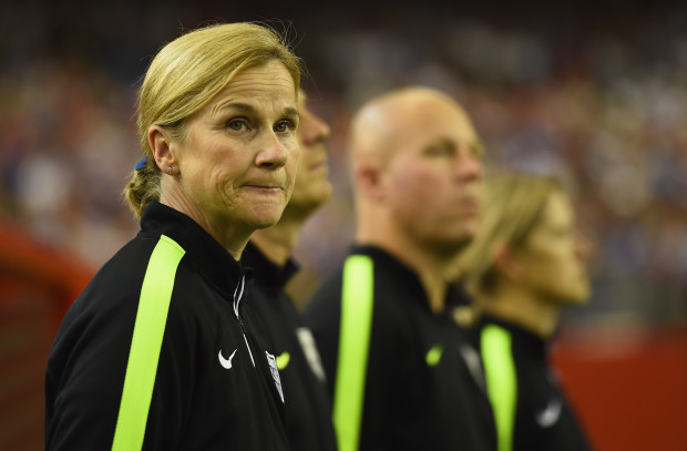 Jill Ellis will try to join Toy DiCicco as the only coaches in the women's game to win a World Cup and Olympic gold. (Getty Images)