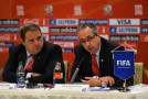 World Cup hosts downplay issues, tout successes