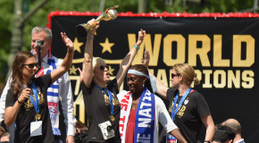 PHOTOS: USWNT honored with parade in NYC