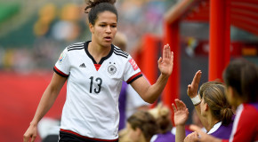 Germany striker Celia Sasic retires at age 27