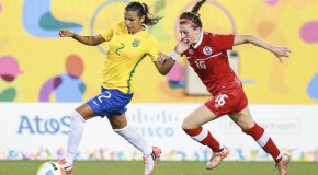 Canada into Pan Am semis despite loss to Brazil