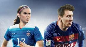 EA adds Morgan, Sinclair, Catley to FIFA 16 cover