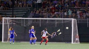 Press scores late as first-place Red Stars top Breakers