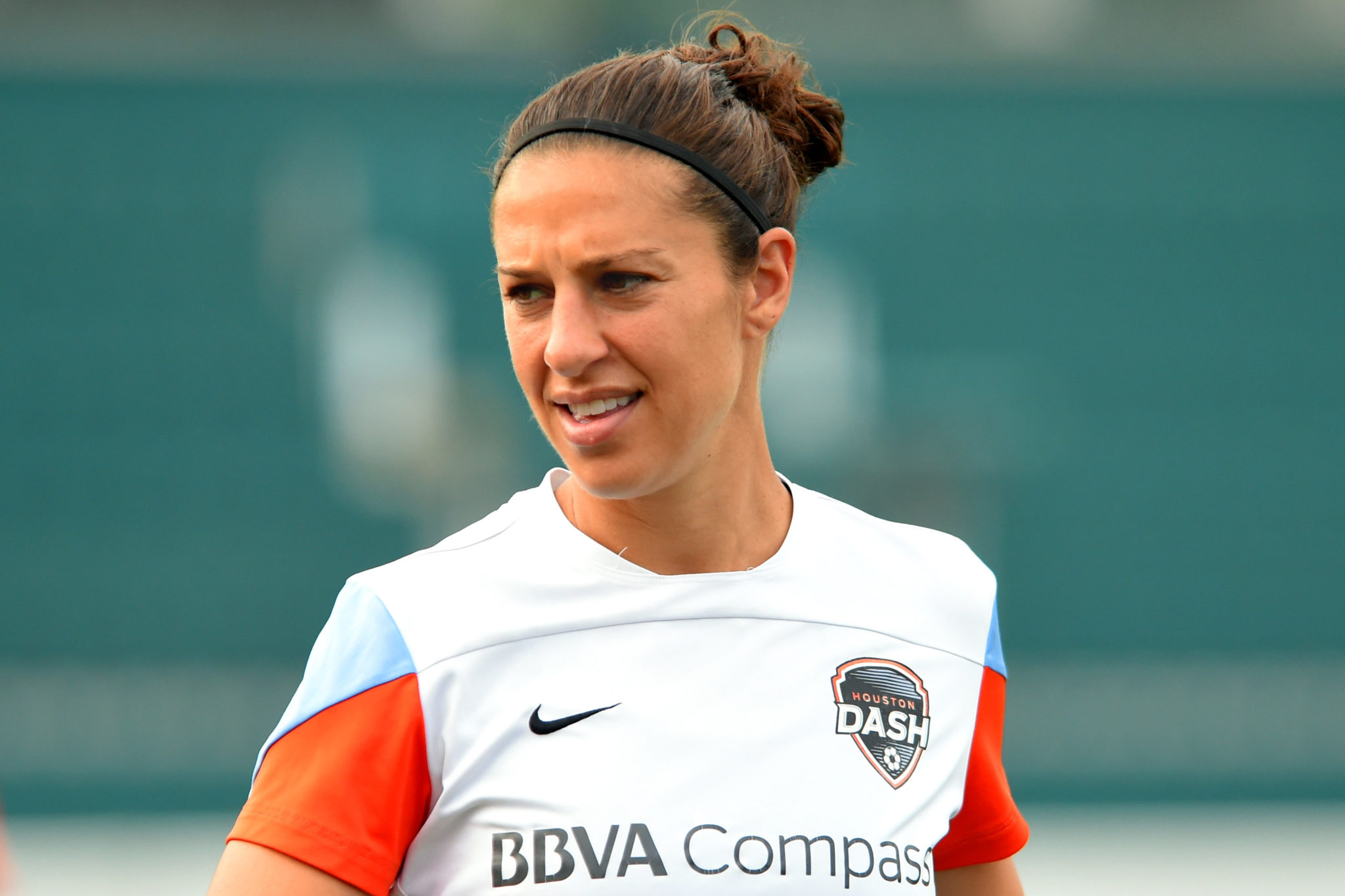 Carli Lloyd scored for the 7th game in a row. (Getty Images)