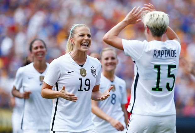 Will Julie Johnston return after missing two games with hamstring soreness.(Getty Images)