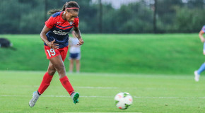 Dunn nets first-half hat trick as Spirit down Dash