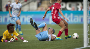 Long's brace lifts Thorns past Red Stars in Portland