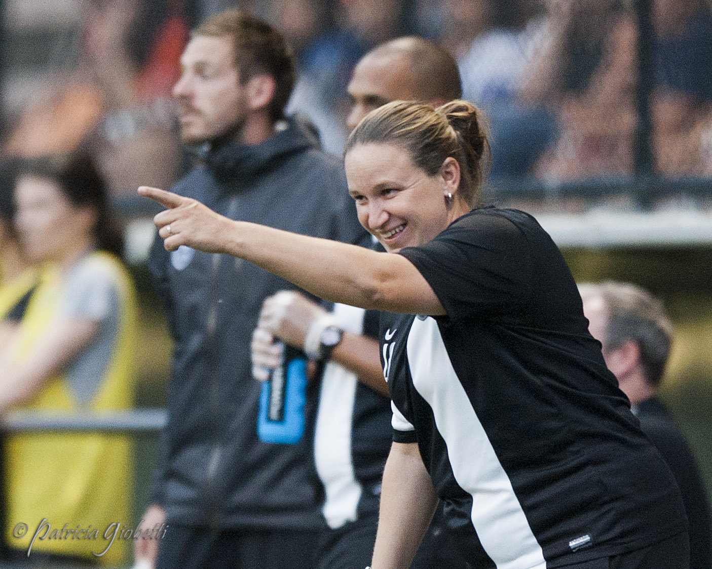 Laura Harvey is the NWSL Coach of the Year for the second straight season. (Photo Copyright Patricia Giobetti for The Equalizer)