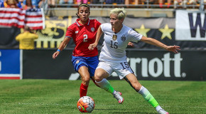 One month from Rio, Rapinoe back to full training