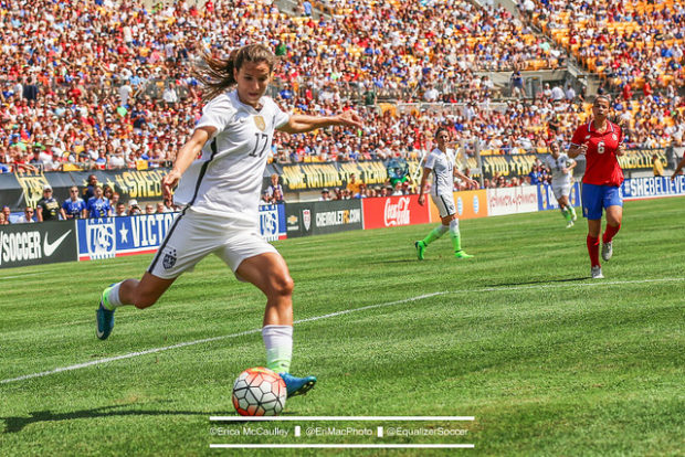 Tobin Heath and the USWNT are headed to Hawaii on Dec. 6 to play Trinidad and Tobago.