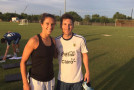 Carli Lloyd meets Lionel Messi, gets autograph