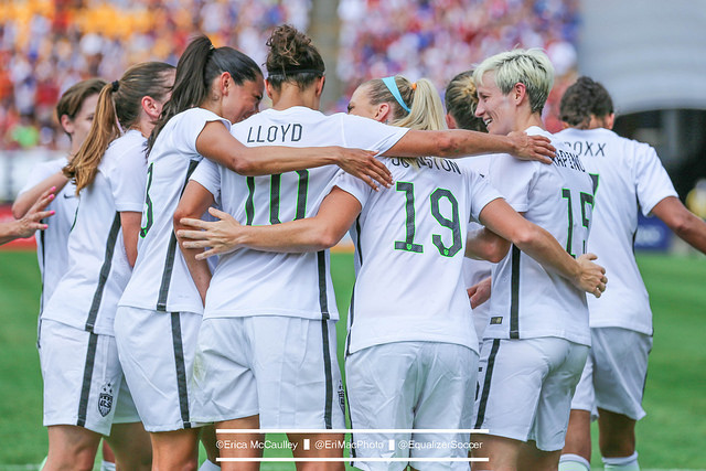 The USWNT explained their decision to cancel Sunday's match in Hawaii. (Photo Copyright Erica McCaulley for The Equalizer)