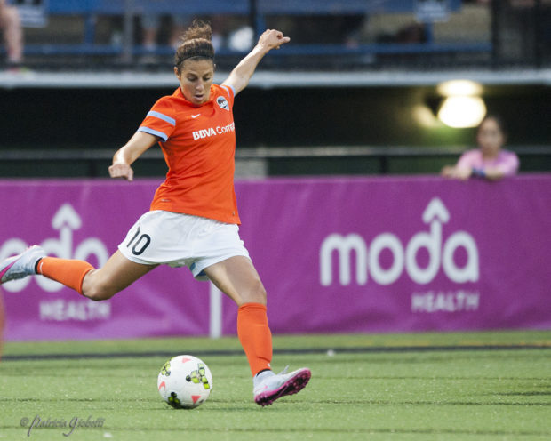 Carli Lloyd could be heading to Manchester City (Photo Copyright Patricia Giobetti for The Equalizer)