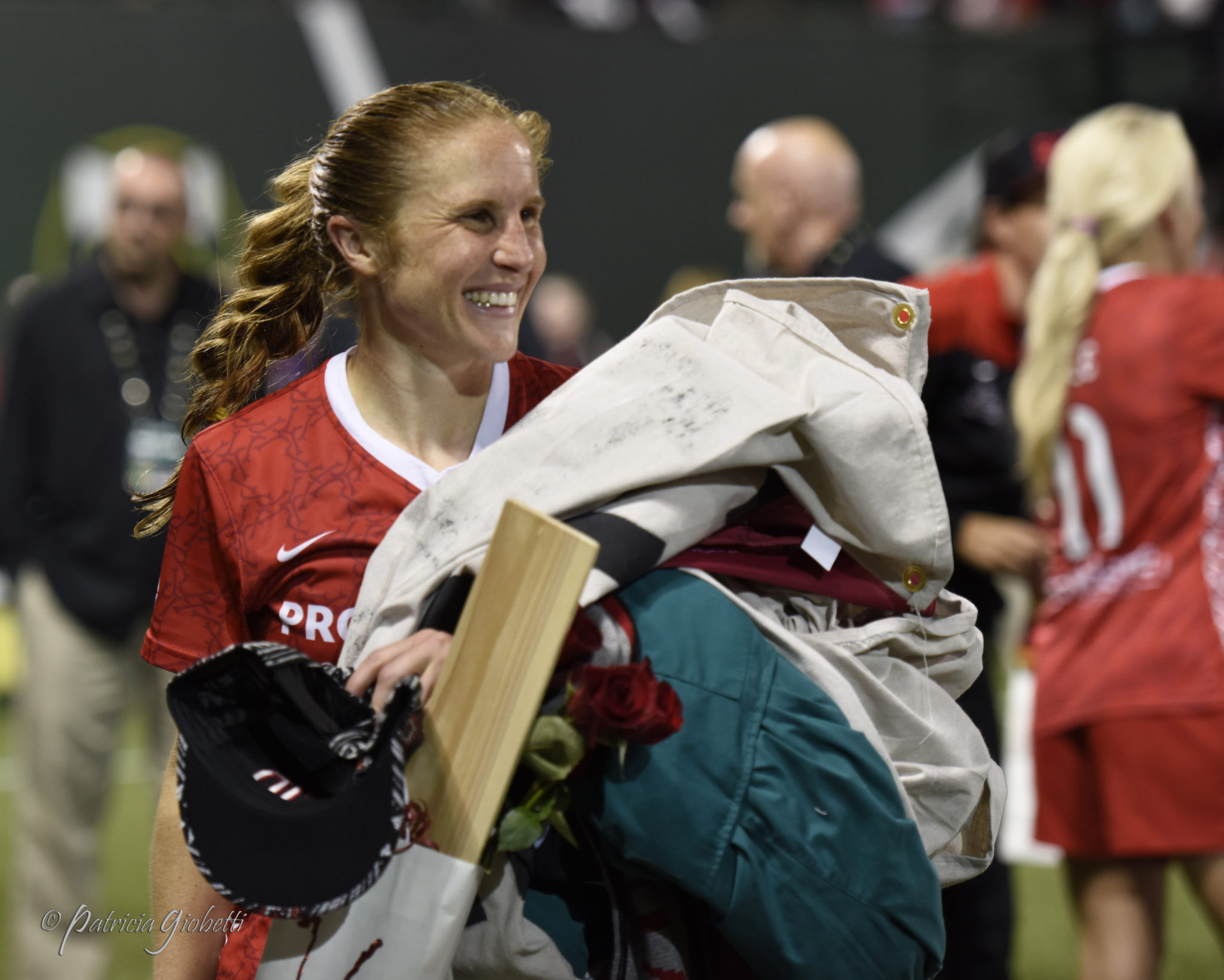 Rachel Van Hollebeke played her final professional game last month before immediately beginning medical school. (Photo Copyright Patricia Giobetti for The Equalizer)