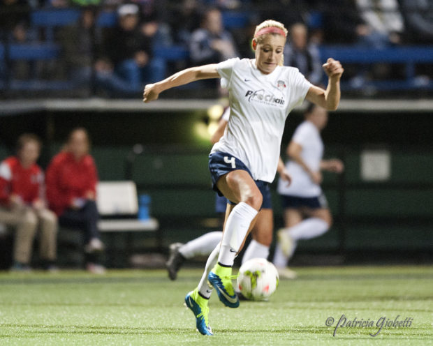 Megan Oyster has officially signed with the Boston Breakers for the 2017 season (Photo Copyright Patricia Giobetti for The Equalizer)