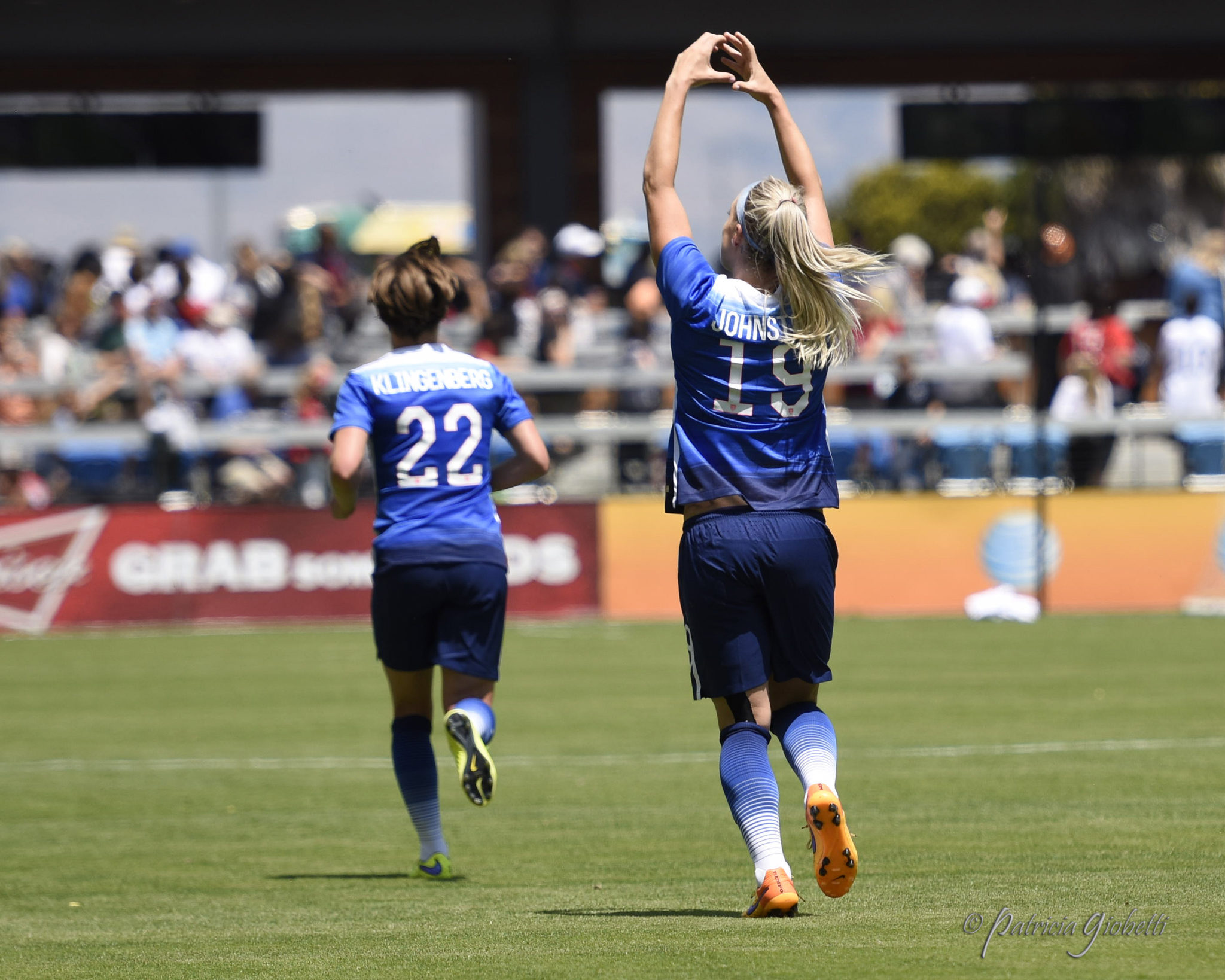 The U.S. women kick off Olympic qualifying on Wednesday. (Photo Copyright Patricia Giobetti for The Equalizer)