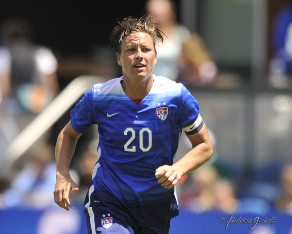 Abby Wambach has joined ESPN. (Photo Copyright Patricia Giobetti for The Equalizer)