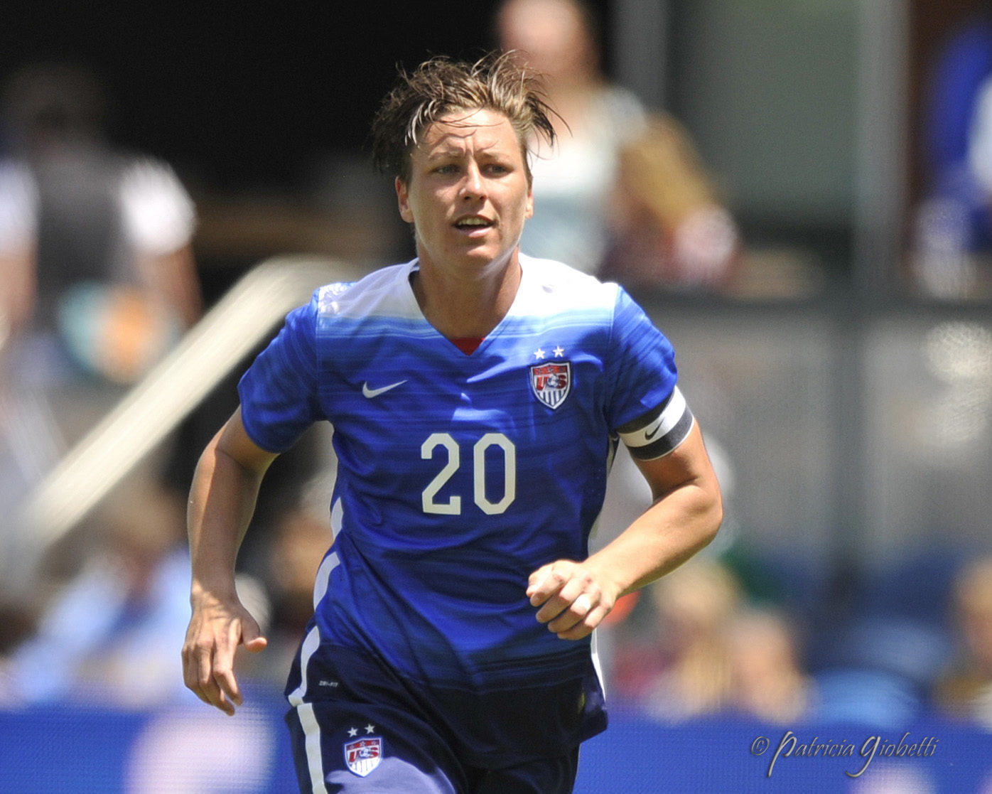 Abby Wambach announced her engagement over the weekend. (Photo Copyright Patricia Giobetti for The Equalizer)