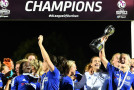 Kirby double rides Chelsea to FAWSL title